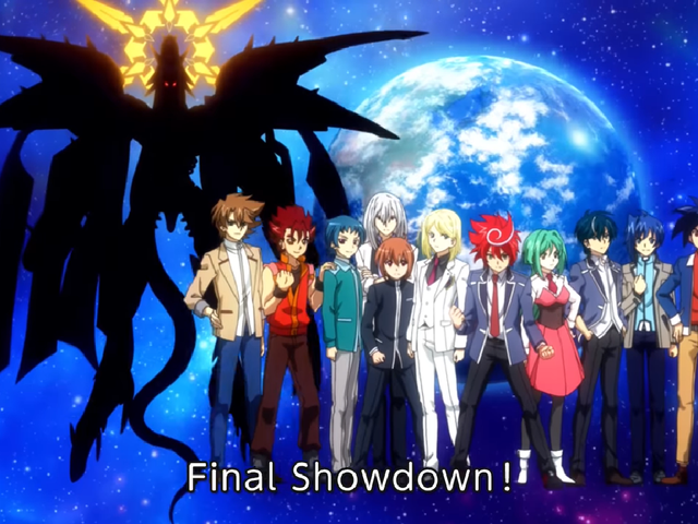 15 Chapters so far: Cardfight!! Vanguard G: Z