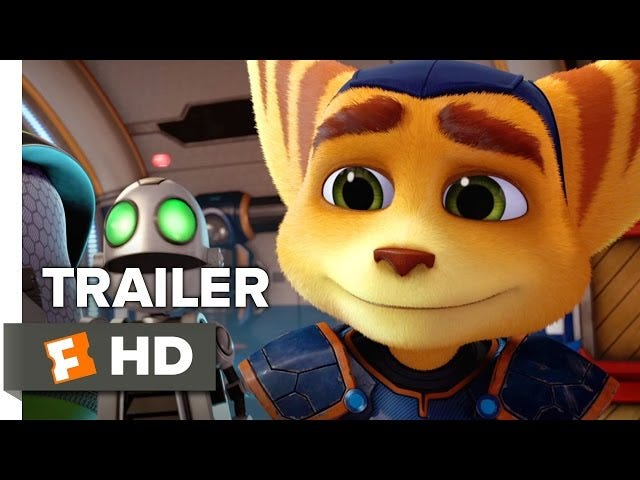 That Ratchet & Clank movie is still happening, and here's the full trailer
