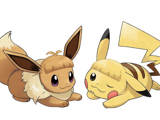Not Even Pikachu And Eevee Can Pull Off Bangs