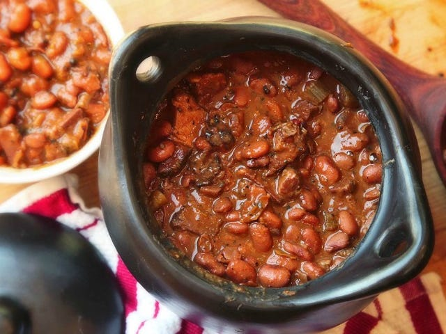Use Leftover Smoked Meat to Flavor Beans and Rice Dishes