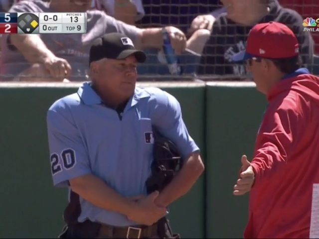 Tom Hallion Puts On A Ridiculous Spring Ump Show With Five Silly Ejections
