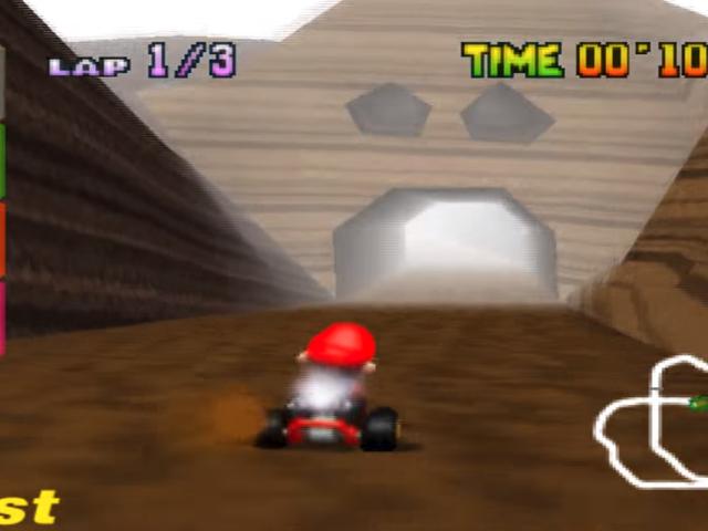 The Secret Glitch Players Used To Break<i>Mario Kart 64</i>'s Chocolate Mountain
