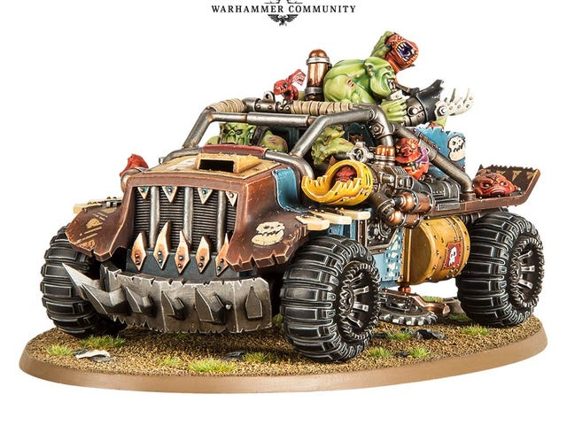 Oppo, critique the new Ork vehicles