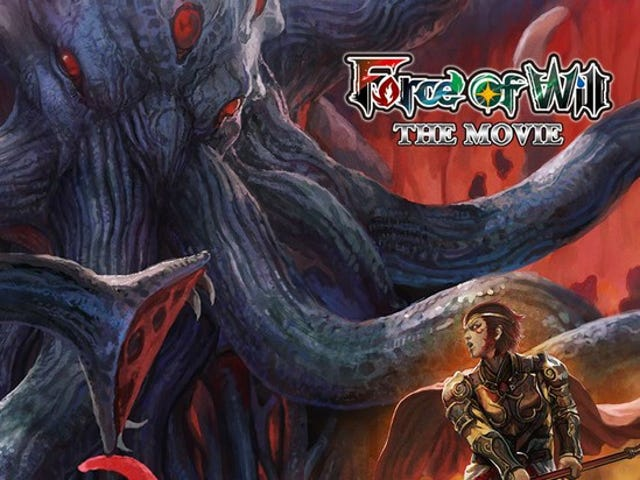Force of Will TCG will have a Movie