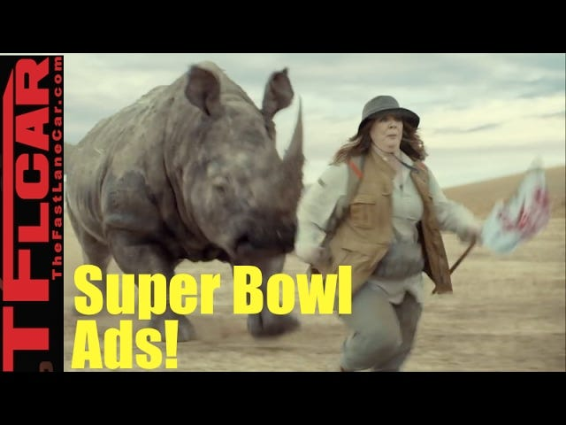 Superbowl Car Commercials: A Sum Up.