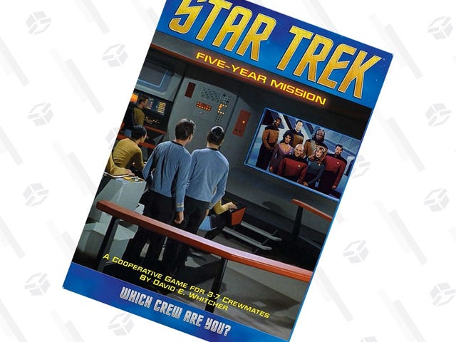 """<a href=""""https://kinjadeals.theinventory.com/work-as-a-crew-to-win-the-star-trek-five-year-mission-b-1827890519"""" data-id="""""""" onClick=""""window.ga('send', 'event', 'Permalink page click', 'Permalink page click - post header', 'standard');"""">Work as a Crew to Win the <i>Star Trek Five-Year Mission</i> Board Game, Just $22 Today</a>"""