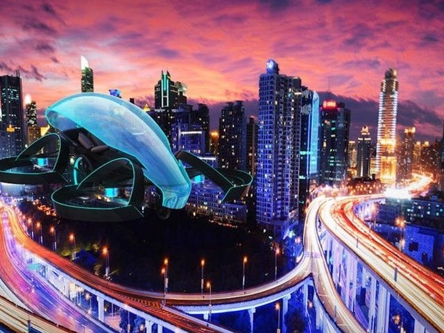 Toyota Invested $350,000 In A 'Flying Car' That's Actually A Drone