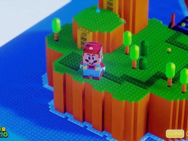 Lego Super Mario ottiene il suo videogioco nei sogni
