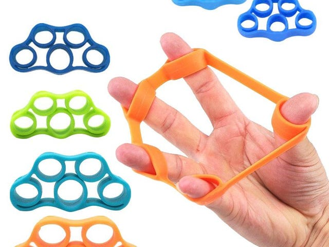 Finger Resistance Bands - Training Stretch Exercise