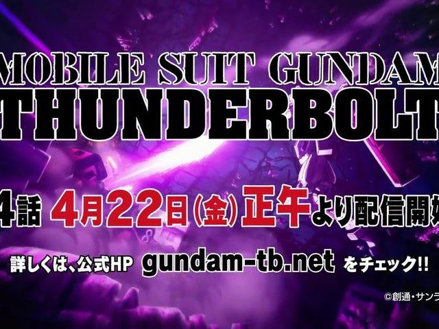 Gundam Thunderbolt Blip: Một quảng cáo mới cho tập thứ tư và cuối cùng của Thunderbolt đã ra mắt và nó