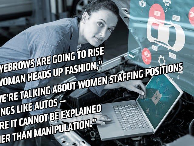 Tech Fuckboy ma złą opinię na temat kobiet w samochodach