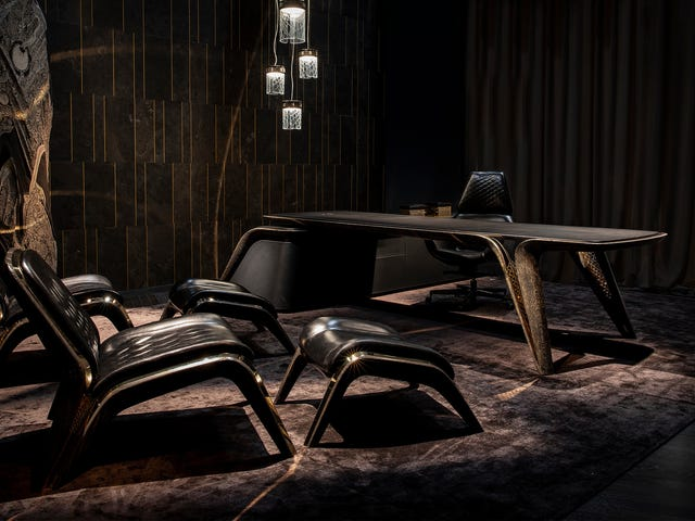 Bentley Sells Furniture for the Discerning Supervillain Now