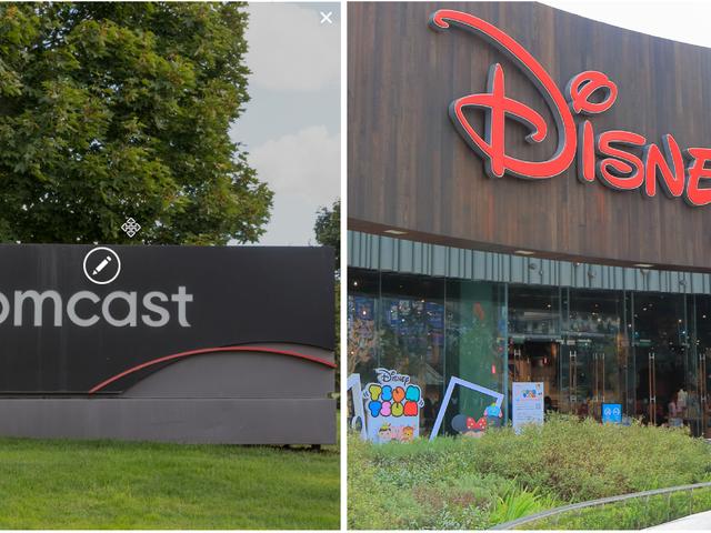 Disney e Comcast sono pronti a scatenare la guerra su Fox del 21 ° secolo