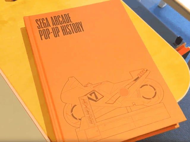 A New Pop-Up Book Is Full Of Sega Arcade Games