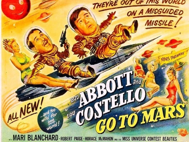 Svengoolie: Abbott and Costello Go to Mars (1953)