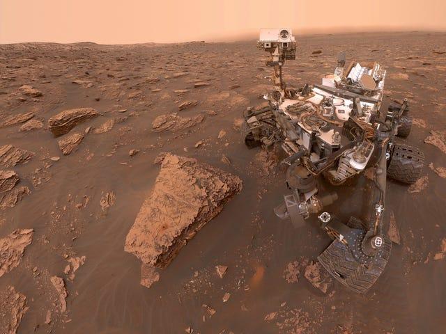 Rover Curiosity Rover của NASA phát hiện Spike trong Methane trên sao Hỏa