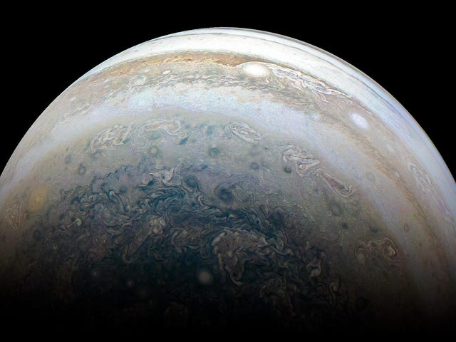 A New Pic of Jupiter's Southern Hemisphere to Soothe Our Tortured Souls