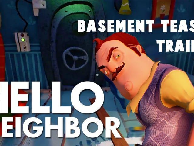 Hello Neighbor es un próximo juego de terror en el que la IA aprende de cada uno de tus movimientos