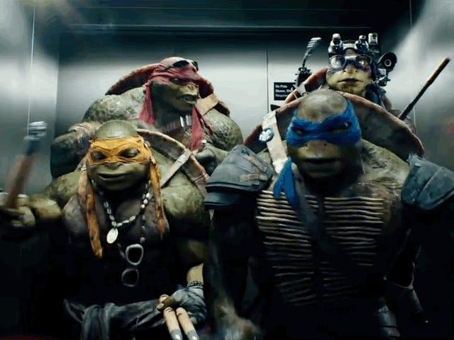 När äkta sköldpaddor sjunger <i>Teenage Mutant Ninja Turtles</i> Theme Song, gråter Gud