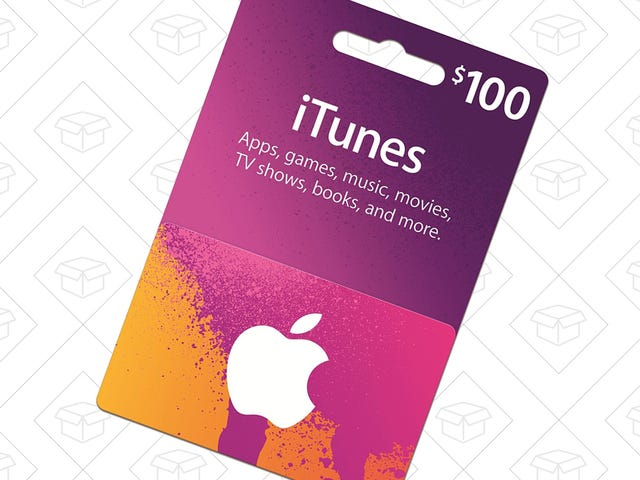 Give the Gift of iTunes Credit For $15 Off