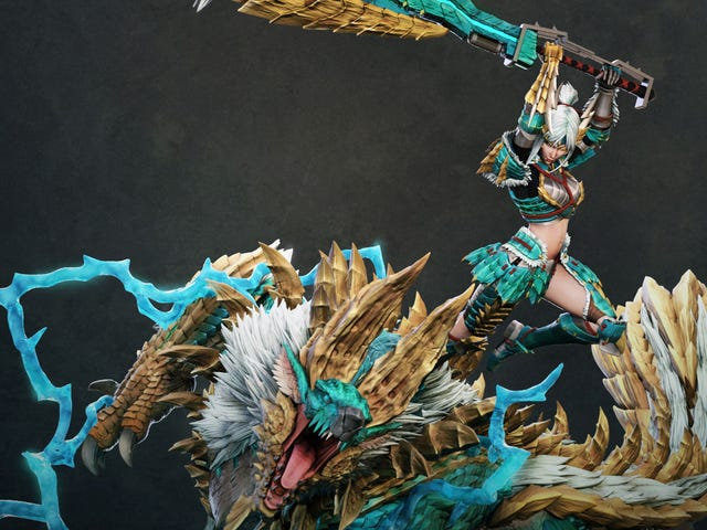 Look At This Monster Hunter Statue