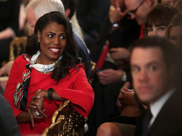 Omarosa Claims White House Staff Joked About Removing Trump From Office So Much They Had A Hashtag