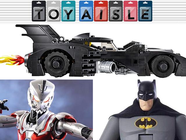 Ein noch kleineres Lego-Batmobil aus dem Jahr 1989 wird zum besten Spielzeug der Woche
