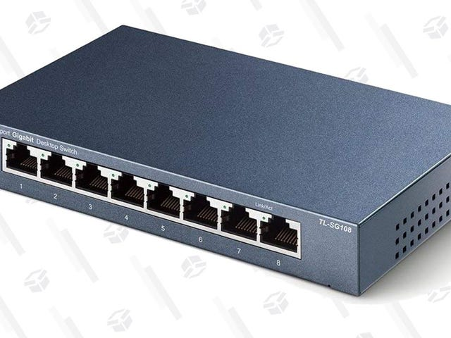 Add a Bunch of Extra Ethernet Ports to Your Router For $20