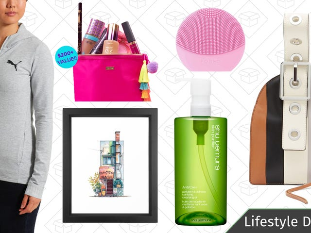 Thursday's Best Lifestyle Deals: Mother's Day Beauty Tools, Shu Uemura, PUMA, and More