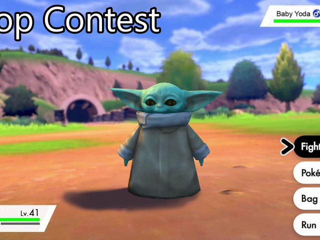 'Butikkonkurranse: Baby Yoda
