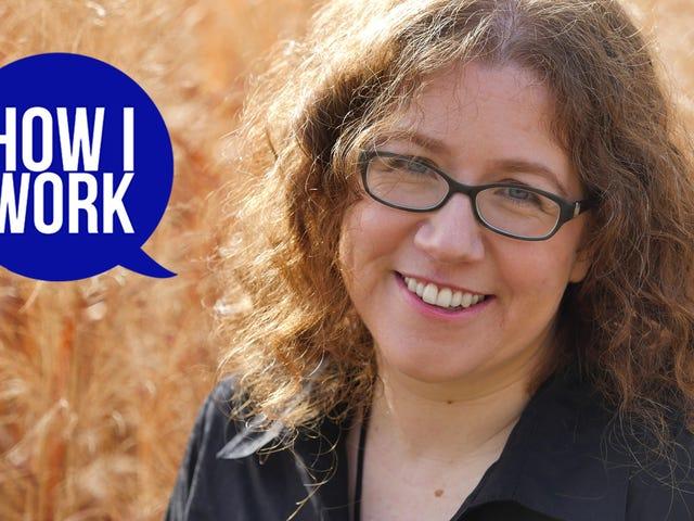 Tôi là tác giả Sarah Pinsker và đây là cách tôi làm việc