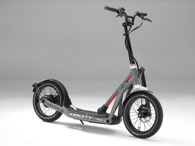 BMW's Latest Two-Wheeler Is A Kick Scooter With A Lot Less Kicking