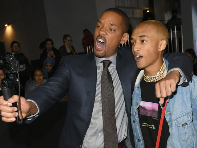 Will Smith embraces his cheesy dad side by dropping in on his kid's Coachella set