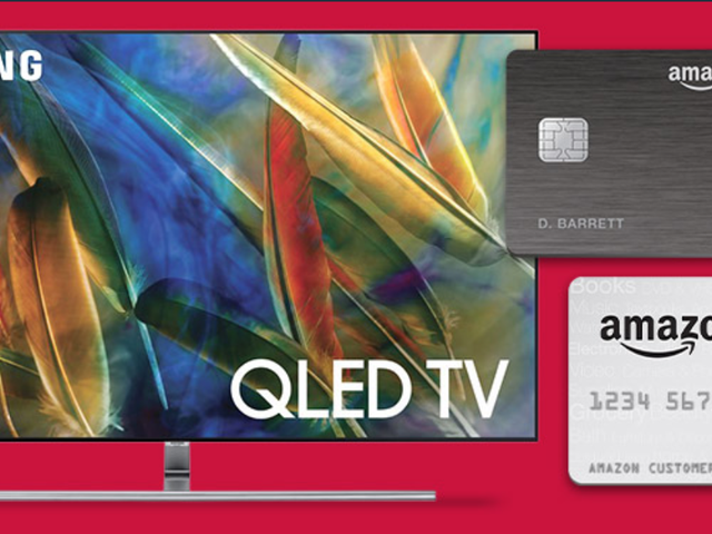 Amazon's Dishing Out Extra Cash Back On Select TVs When You Use a Prime Credit Card