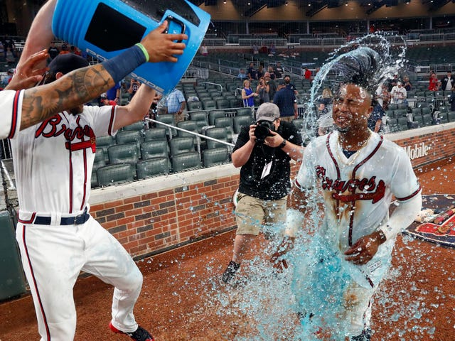 Ozzie Albies Called His Walk-Off Homer