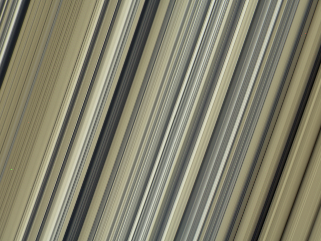 Cassini Dropped Its Most Mind-Blowing Look At Saturn's Rings Yet