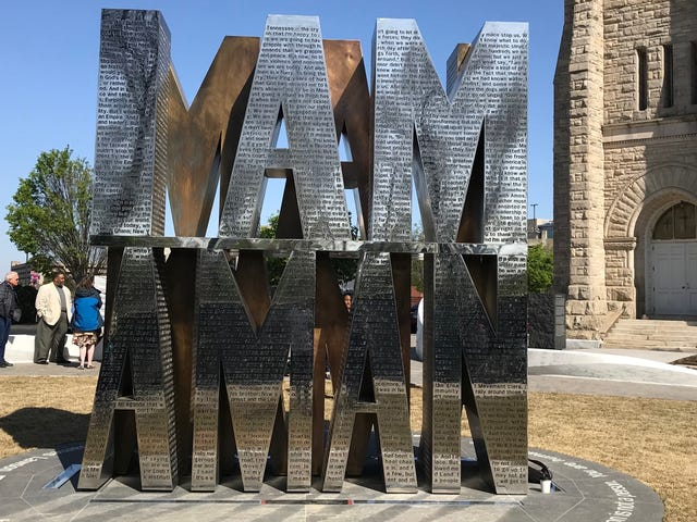 Memphis, Tenn., Honors 1968 Sanitation Workers With I Am a Man Plaza