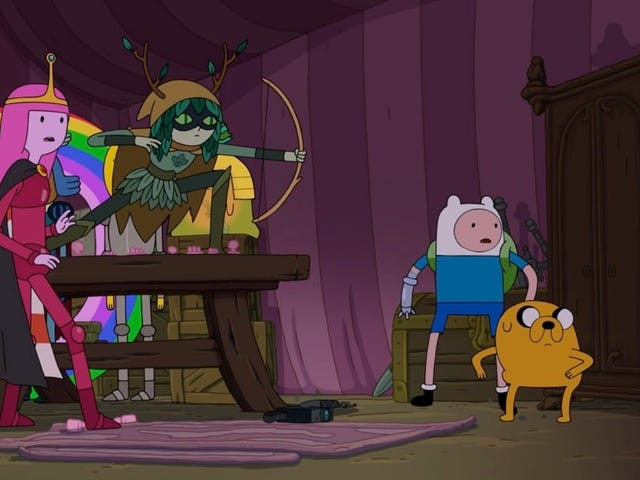 This Sneak Peek at the Adventure Time Final Seasons DVD Is Full of Fanfic and Pancakes