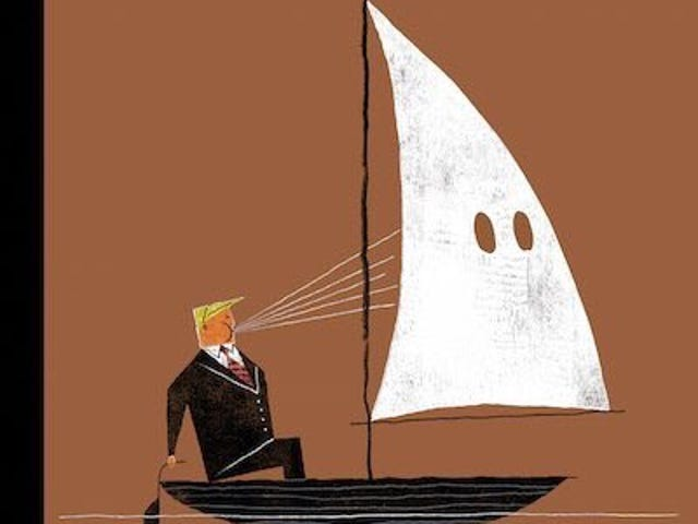 Lad venligst denne New Yorker Cover Send Trump Over Edge