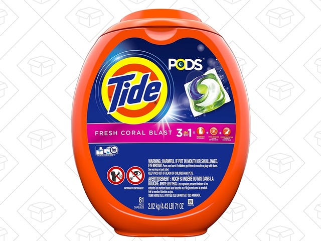 Amazon's Running Another Mouth-Watering Deal on Tide Pods