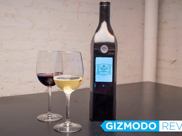 This Smart Wine Bottle Makes Getting Drunk Way Too Complicated