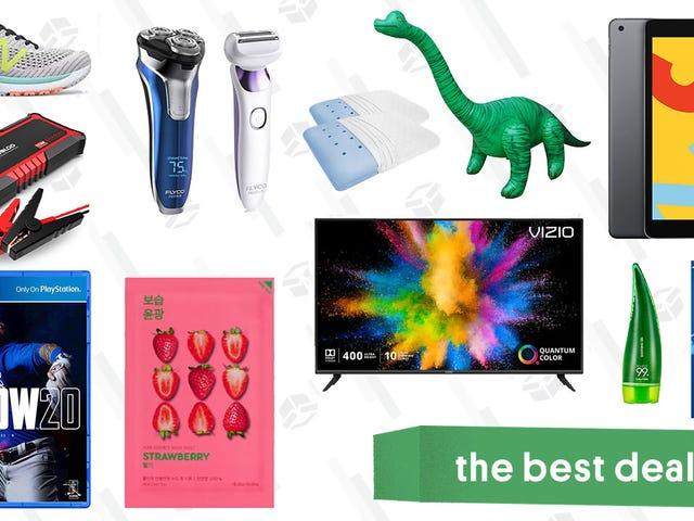 Tawaran Terbaik hari Rabu: TV Seri M Vizio, iPad 128GB, Bantal Terapi, MLB: The Show, Brachiosaurus kembung, dan banyak lagi