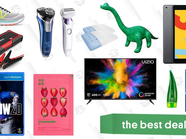 Onsdagens beste tilbud: Vizio M-Series TV, 128 GB iPad, terapeutiske puter, MLB: The Show, oppblåsbar Brachiosaurus og mer