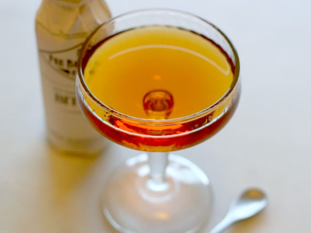 3-Ingredient Happy Hour: The Rum Manhattan