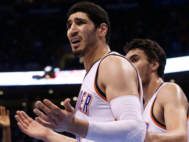 Enes Kanter Sounds Very Happy About Having Left Utah