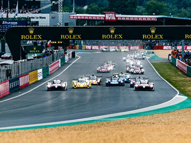 The 2019 24 Jam Le Mans dalam Pictures, The Start