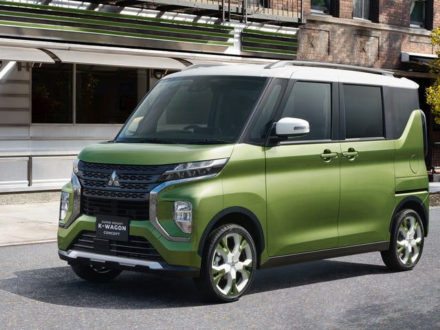 The Mitsubishi Super Height K-Wagon Concept Has Stolen My Heart