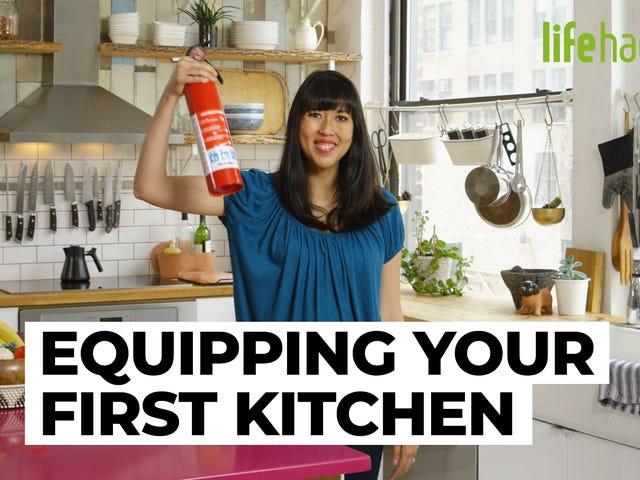 Jak skonfigurować swoją pierwszą kuchnię, abyś mógł wreszcie nakarmić się jak dorosły