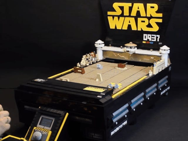 A LEGO Version Of Star Wars Episode I: Racer