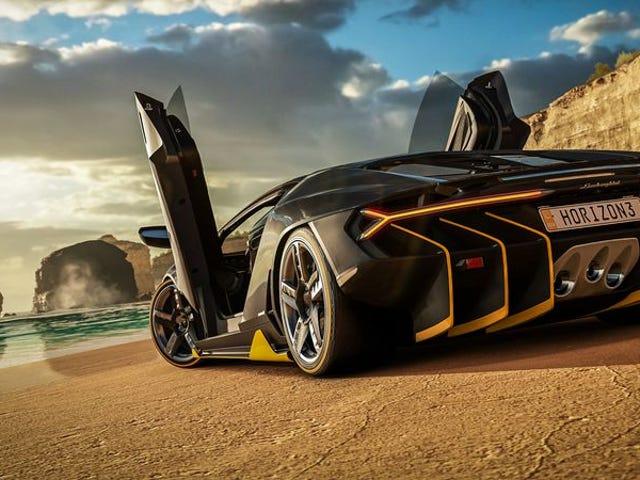 Forza Horizon 3 intercambia la carrera por la emoción del descubrimiento
